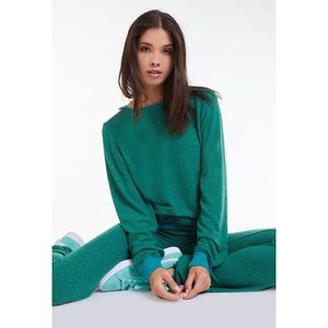 NWT-Wildfox Green Envy Sweat Suit Set